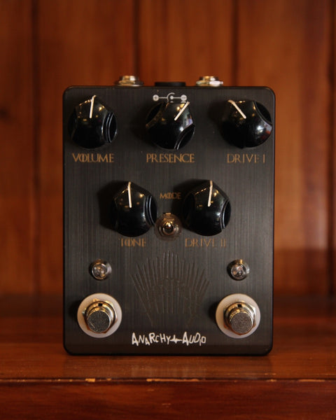 Anarchy Audio Gain of Tones NEW Drive Pedal