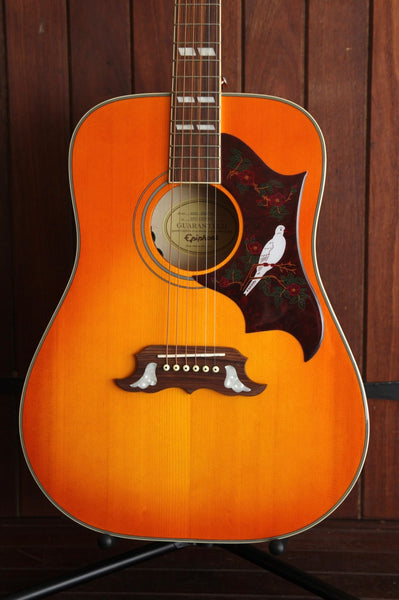 Epiphone Dove Pro Acoustic-Electric Guitar Vintage Burst