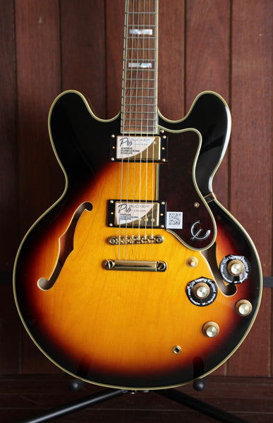 Epiphone Sheraton II PRO Semi-Hollow Electric Guitar Sunburst