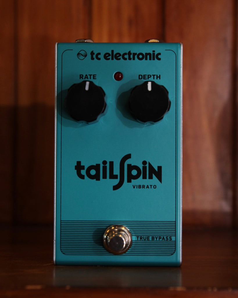 TC Electronic Tailspin Vibrato Effect Pedal