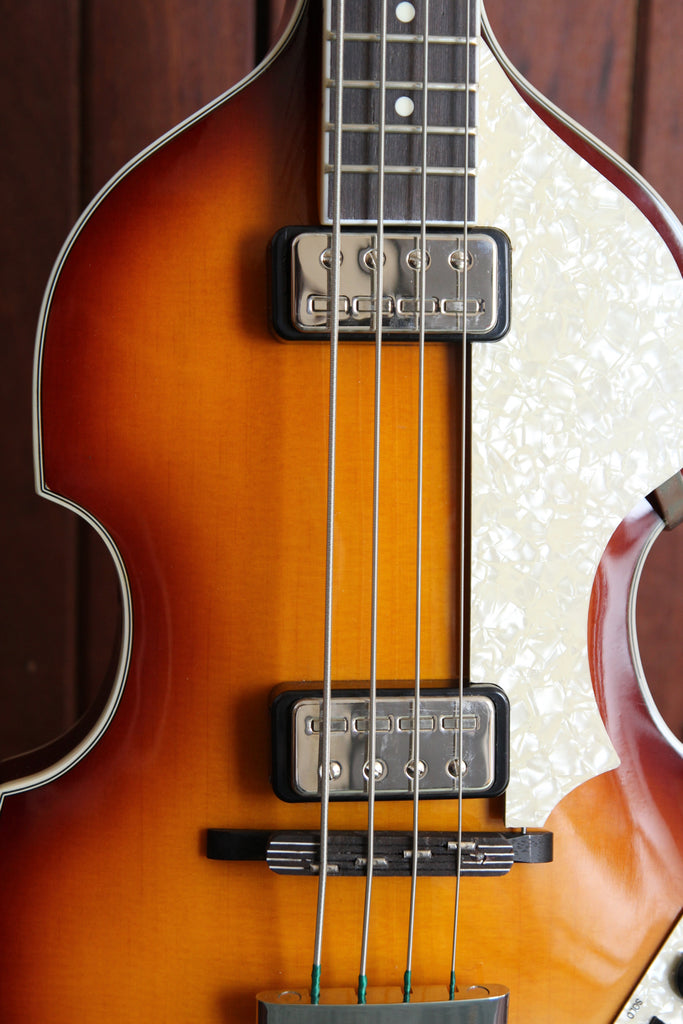 Hofner Contemporary 500/1 Series Violin Bass in Sunburst Pre-Owned