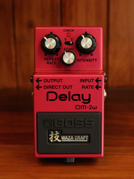 Boss DM-2W Waza Craft Special Edition Analog Delay Pedal - The Rock Inn