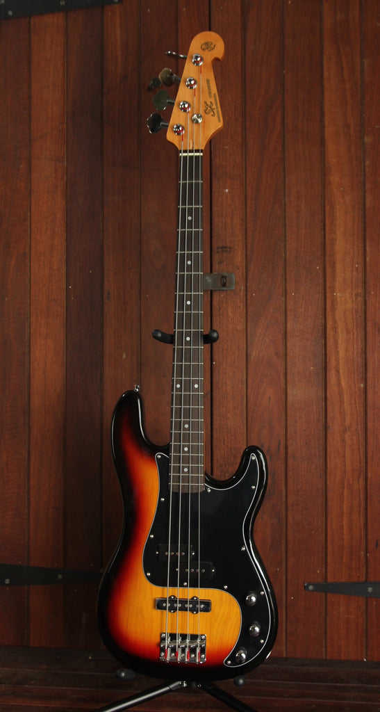 SX PB Bass Solidbody Electric Bass Guitar Sunburst
