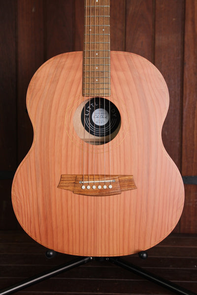 Cole Clark Little Lady LL1E Redwood/Maple Acoustic-Electric Guitar