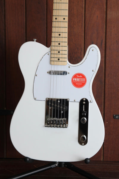Squier Affinity Telecaster Electric Guitar White