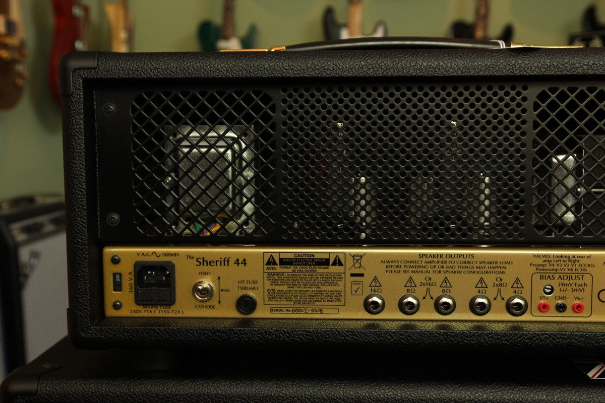 Victory Amplification Sheriff 44 Plexi Style Amp Head - The Rock Inn
