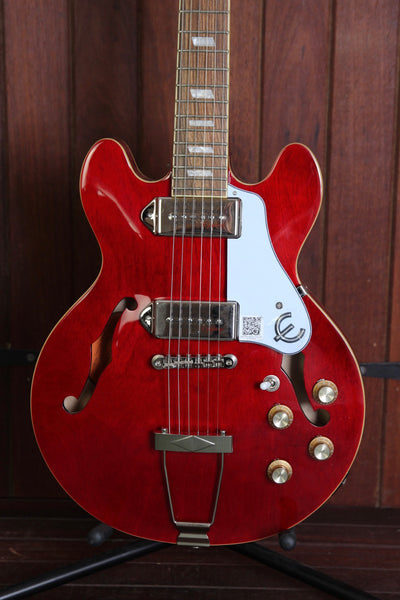 Epiphone Casino Coupe Hollowbody Electric Guitar Cherry