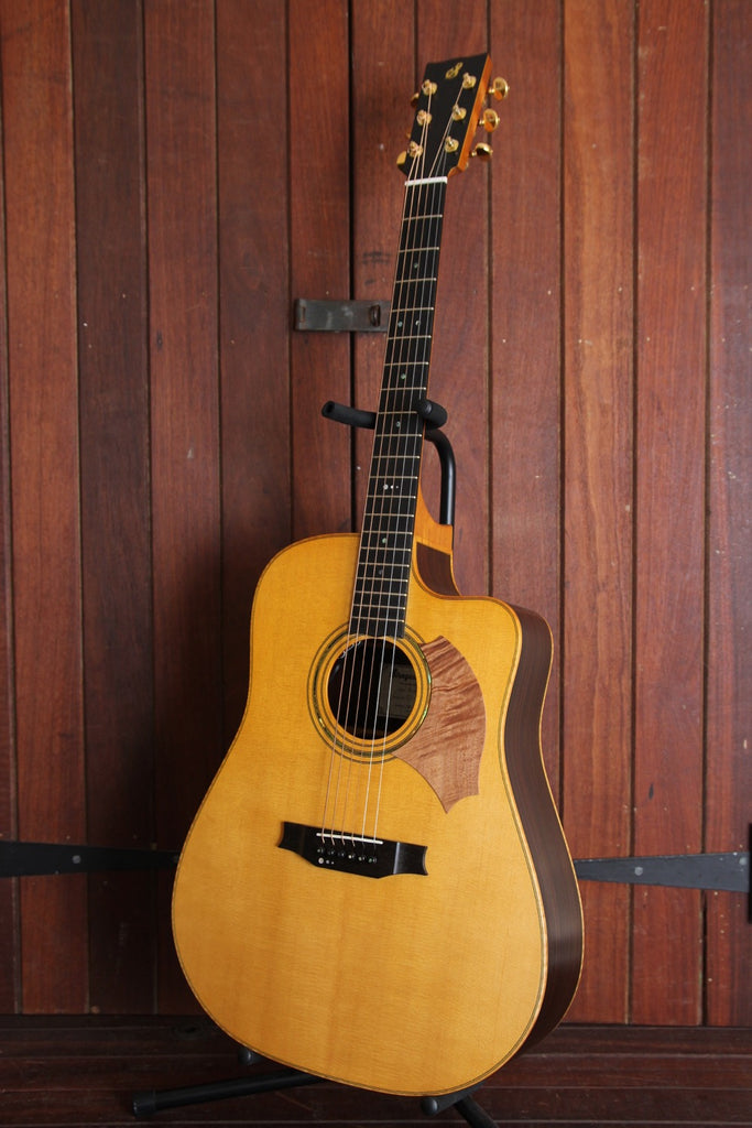 Siragusa Guitars Messina Handmade Dreadnought Acoustic-Electric Guitar