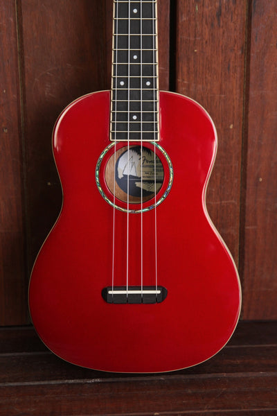 Fender Zuma Concert Ukulele Candy Apple Red