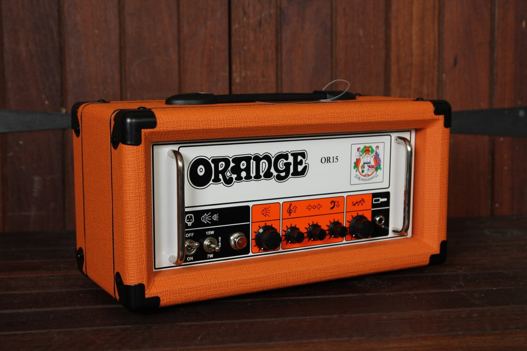 Orange OR-15 15w Valve Amplifier Head - The Rock Inn