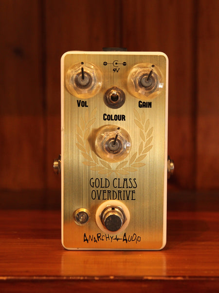 Anarchy Audio Gold Class Overdrive Pedal - The Rock Inn