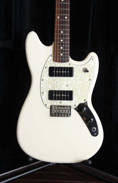 Fender Player Mustang P90 in Arctic White Pre-Owned