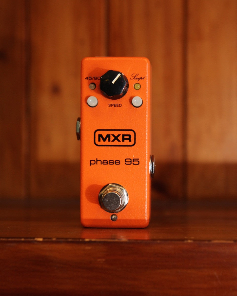 MXR Mini Phase 95 Phaser Guitar Effects Pedal M290 - The Rock Inn