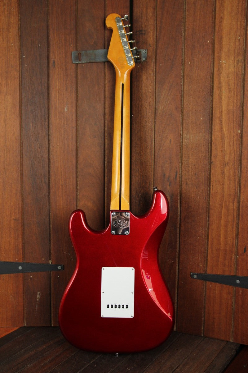 SX Vintage Style Electric Guitar Candy Apple Red - The Rock Inn
