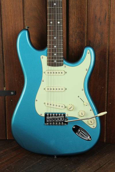 SX Vintage Style Electric Guitar Lake Placid Blue - The Rock Inn - 1