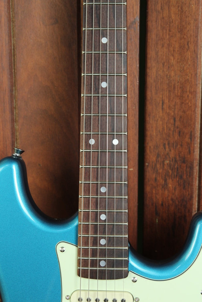 SX Vintage Style Electric Guitar Lake Placid Blue - The Rock Inn