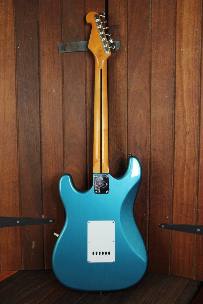 SX Vintage Style Electric Guitar Lake Placid Blue - The Rock Inn - 6