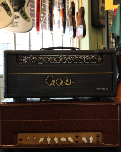 *NEW ARRIVAL* PRS 2-Channel Custom 50 Tube Guitar Amp Head Pre-Owned - The Rock Inn