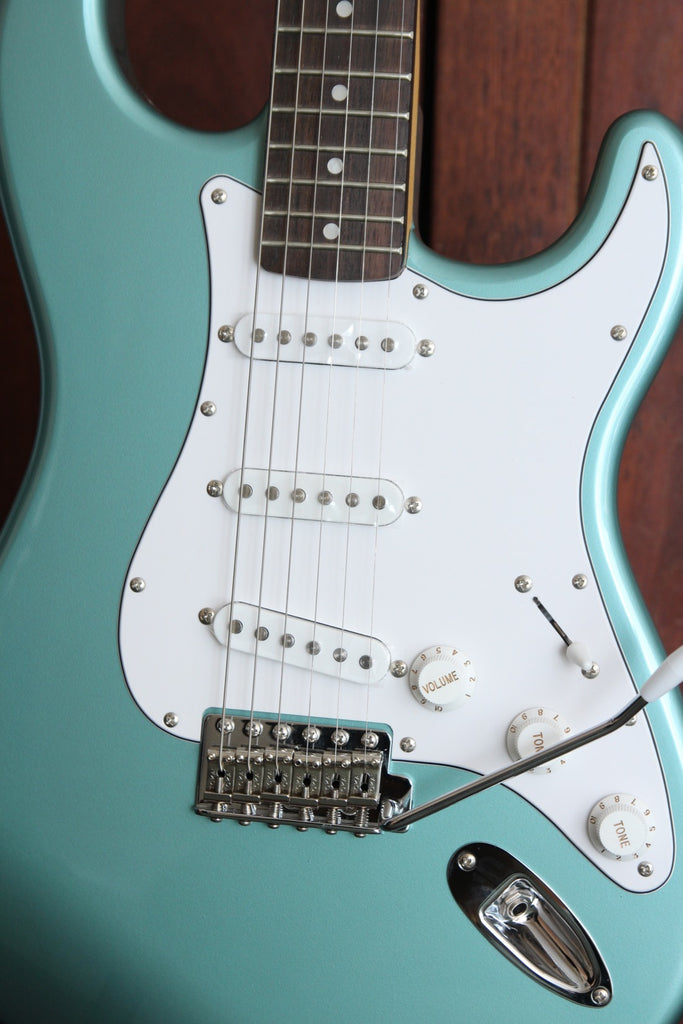 Tokai 'Surftone Series' AST-S38 ST-Style Electric Guitar (Ocean Turquoise Metallic)