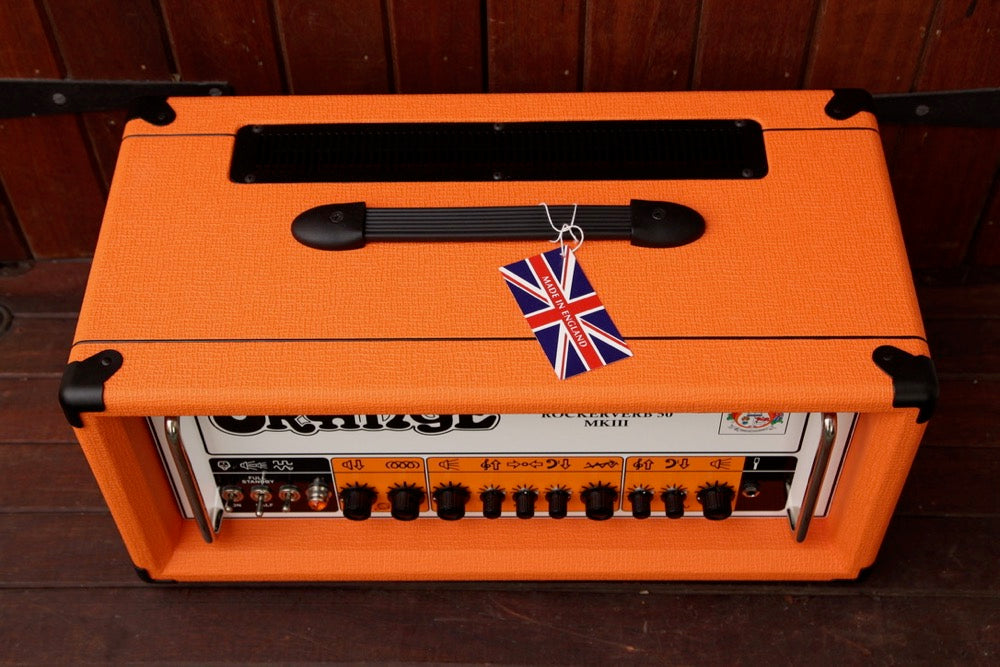 Orange Rockerverb 50 MKIII 50w Valve Head