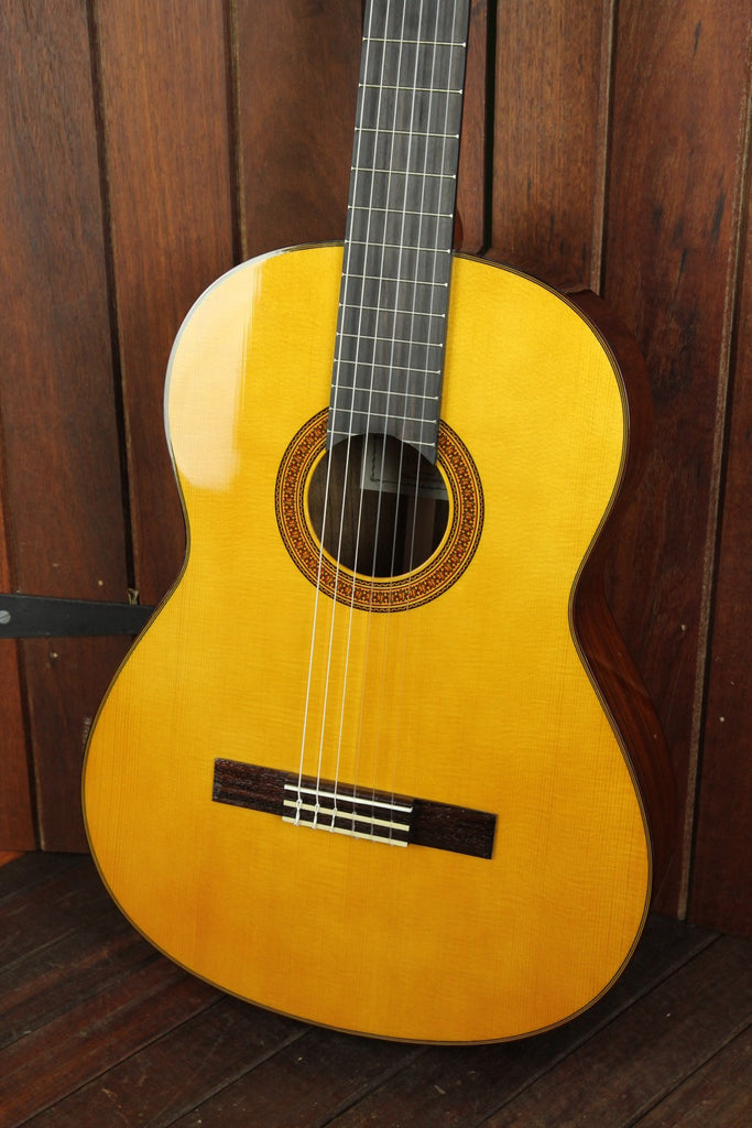 Yamaha CG162S Solid Top Nylon String Guitar - The Rock Inn
