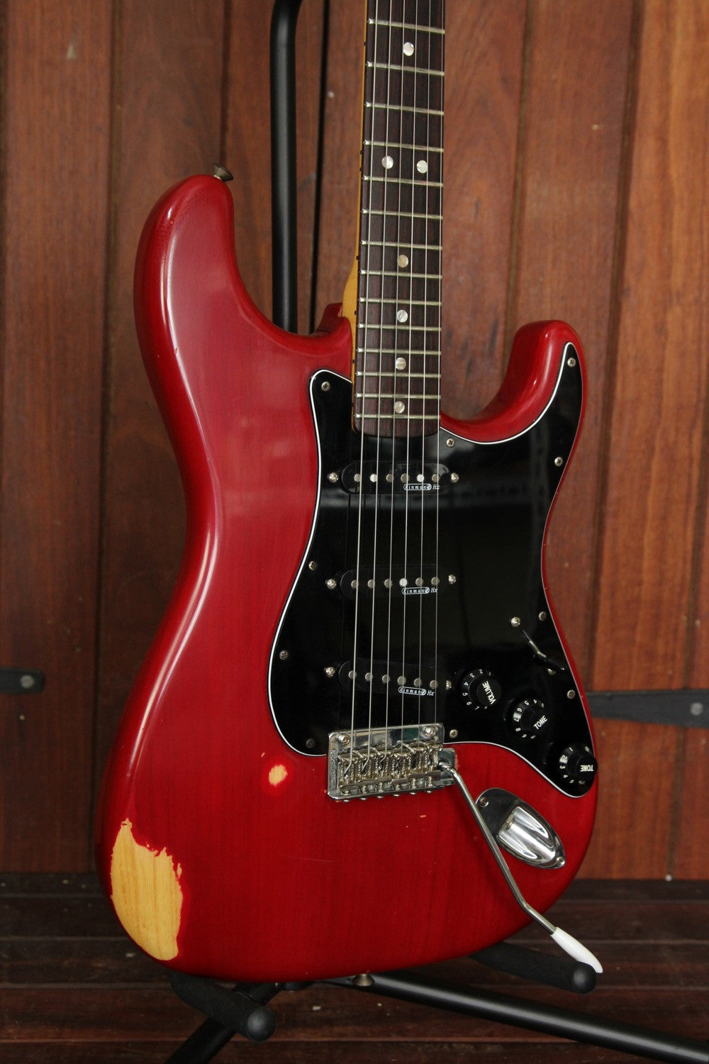 Fender 1979 Stratocaster Red Vintage Electric - The Rock Inn