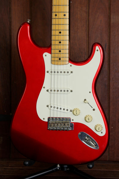 Fender Stratocaster '57 Reissue Made in Japan Candy Apple Red Pre-Owned