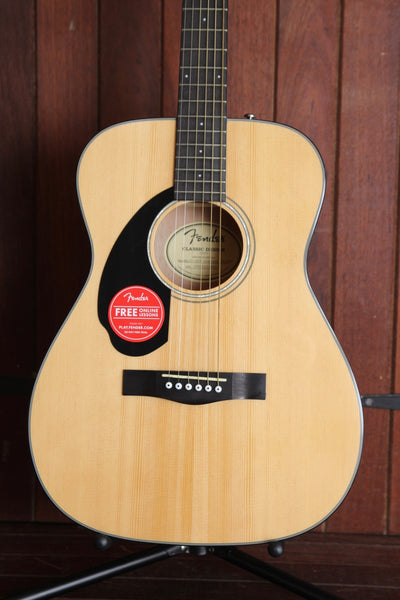 Fender CC-60S Solid Top Concert Size Acoustic Left Handed