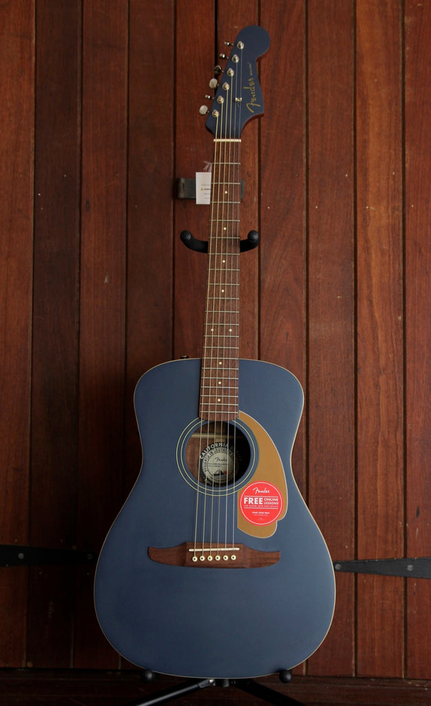 Fender California Player Malibu Satin Acoustic Guitar Midnight