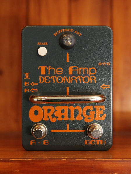 Orange Detonator Amplifier ABY Switcher - The Rock Inn - 1