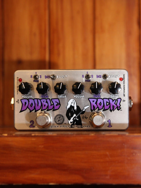 ZVEX Vexter Double Rock Distortion Pedal - The Rock Inn