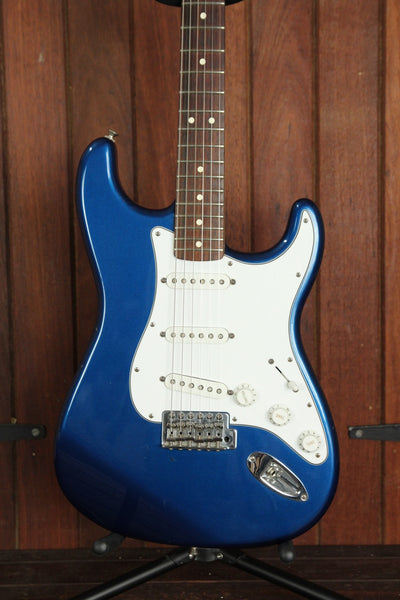 *NEW ARRIVAL* Fender Standard Stratocaster Metallic Blue Pre-Owned