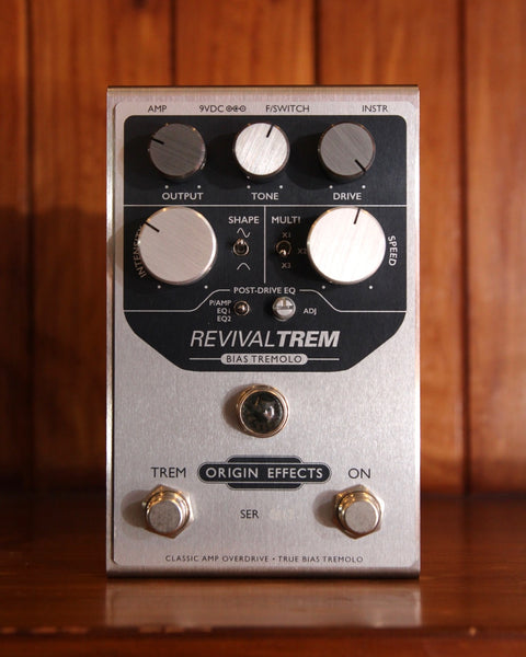 Origin Effects Revival TREM Bias Tremolo Pedal