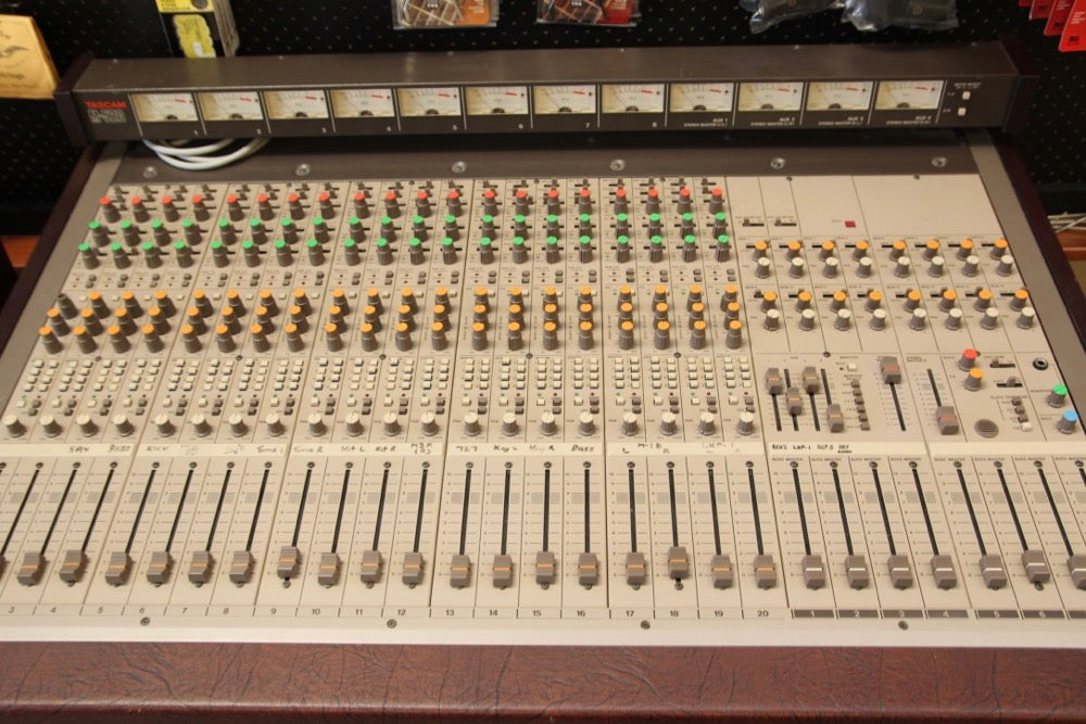 Tascam M520 Vintage Analog Mixer Pre-Owned