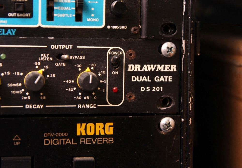Drawmer Dual Gate DS201 Filter Rack Module Pre-Owned