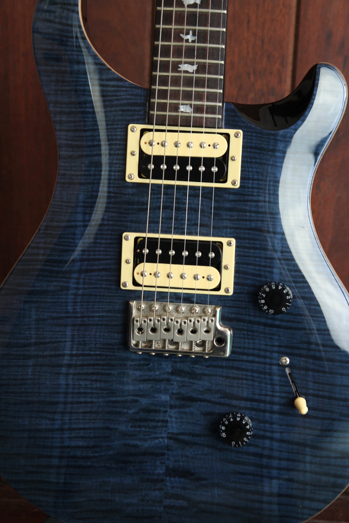 PRS SE Custom 24 Whale Blue Electric Guitar Pre-Owned