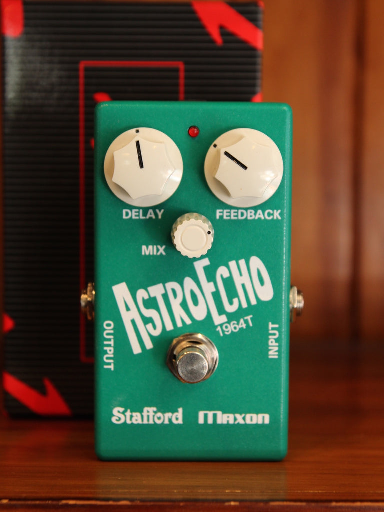 Maxon 1964T Astrotone Delay Pedal RARE Pre-Owned - The Rock Inn