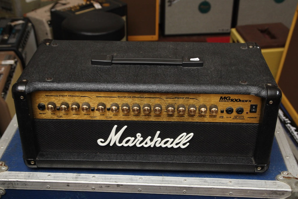 Marshall MG100HDFX 100w Amplifier Head Pre-Owned
