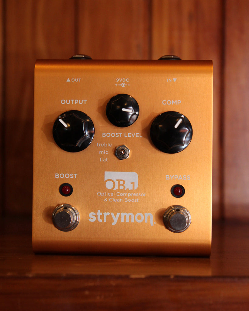 Strymon OB1 Compressor/Boost Pre-Owned