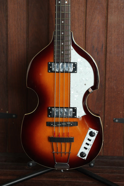 Hofner Ignition Series Violin Bass Sunburst with Hardcase