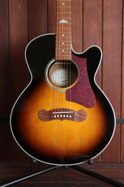 Epiphone EJ-200 Coupe Cutaway Acoustic-Electric Guitar Vintage Sunburst