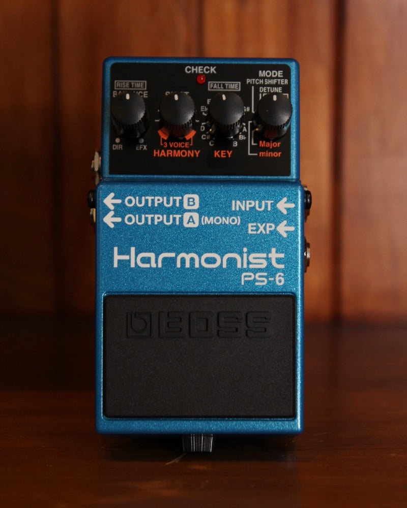 Boss PS-6 Harmonist Pitch Shifter Pedal