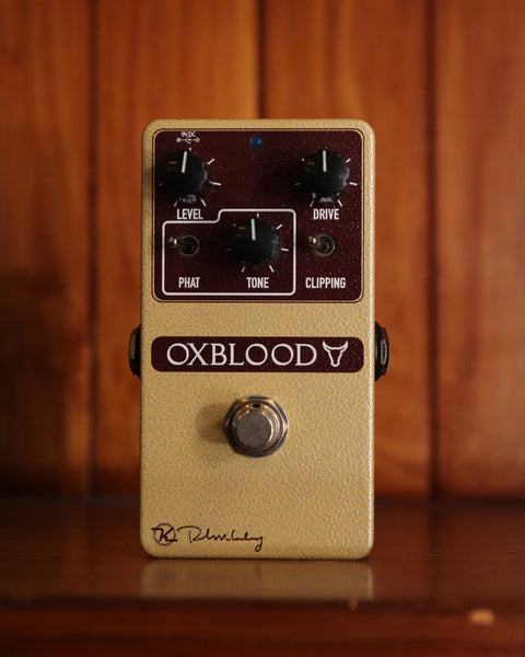Keeley Oxblood Overdrive Pedal Pre-Owned