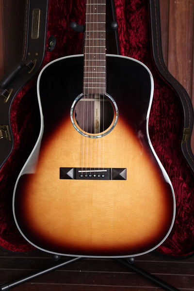 Tasman TA200D-E Acoustic-Electric Guitar with Case
