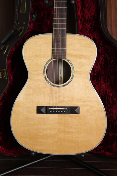 Tasman TA200O-E Acoustic-Electric Guitar with Case