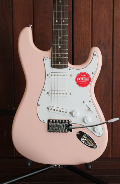 Squier FSR Affinity Series Stratocaster Shell Pink Guitar Ltd Edition