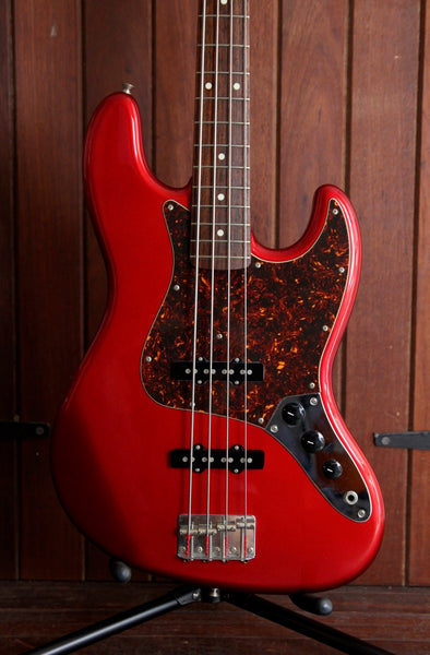 Fender Jazz Bass Made in Japan Candy Apple Red Pre-Owned