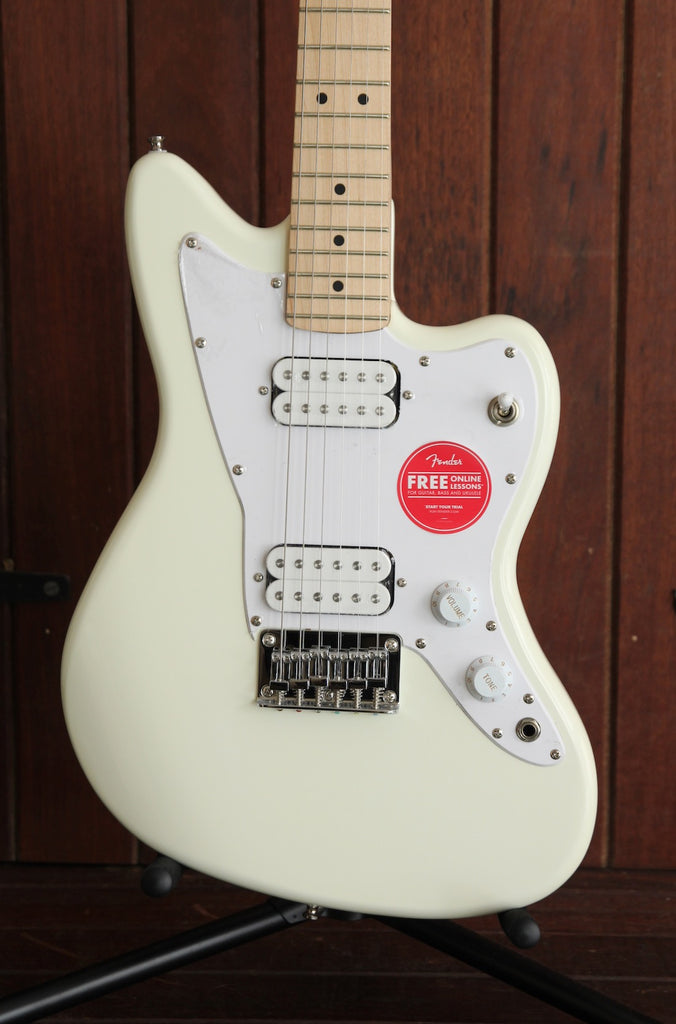 Squier Mini Jazzmaster HH Olympic White Electric Guitar