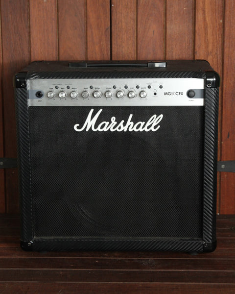 Marshall MG50CFX 50w Combo - Pre-Owned