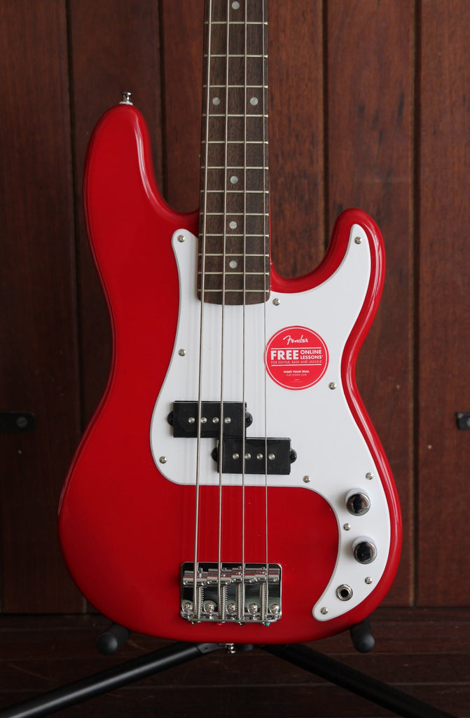 Squier Mini Precision Bass Dakota Red